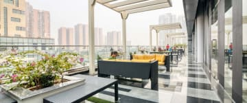 workspace provided by myHQ in Electronic City