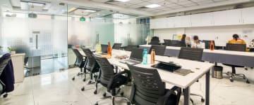 workspace provided by myHQ in Indiranagar