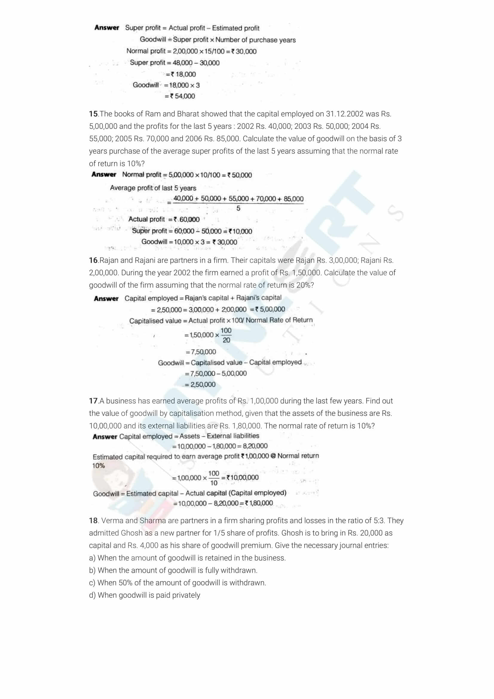 ncert solutions class 12 accountancy part 1 chapter 3 reconstitution of a partnership firm admission of a partner 03