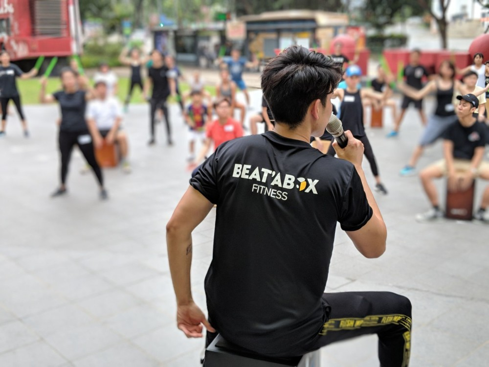 Arthur Choo from BEATABOX