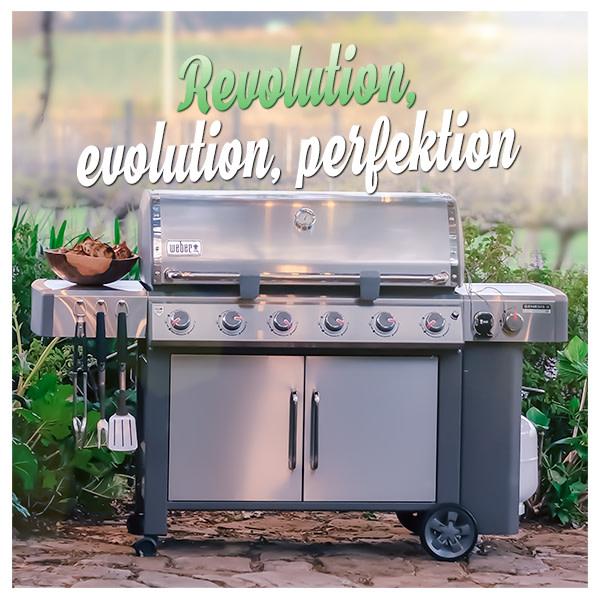 Genesis® II Revolutionen fortsätter! Weber Grill