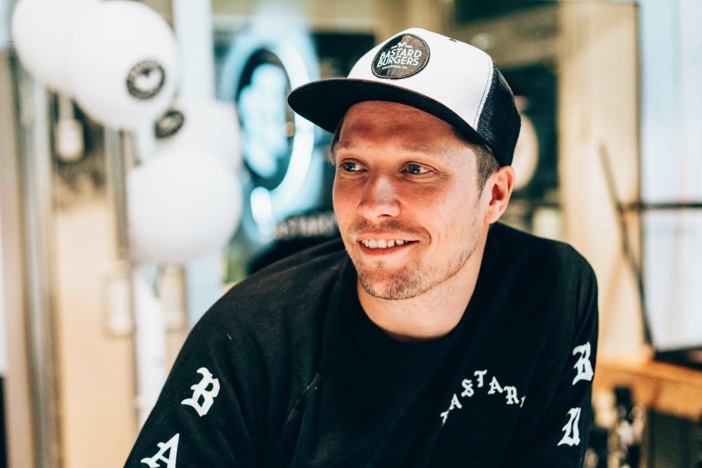 Simon Wanler, medgrundare och VD. Foto: Kim Markström
