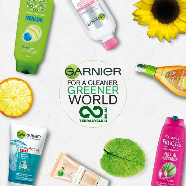 Image result for garnier recycling