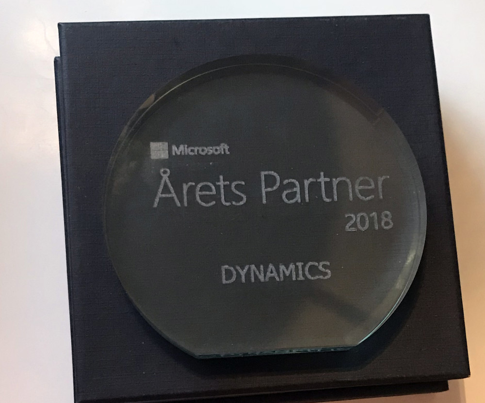 Årets Microsoft Dynamics Partner 2018