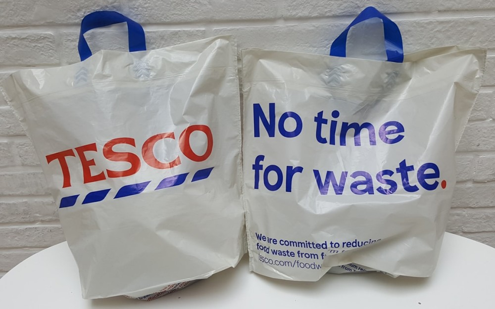 Tesco replaces 5p carrier bags with 'Bag for Life' - Swedbrand