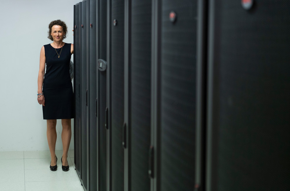 Tina Schou, Salgsdirektør for Schneider Electrics datacenter-division