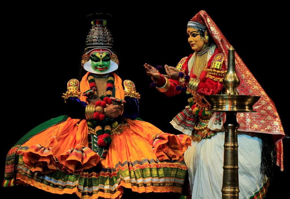 Kathakalidans frå India