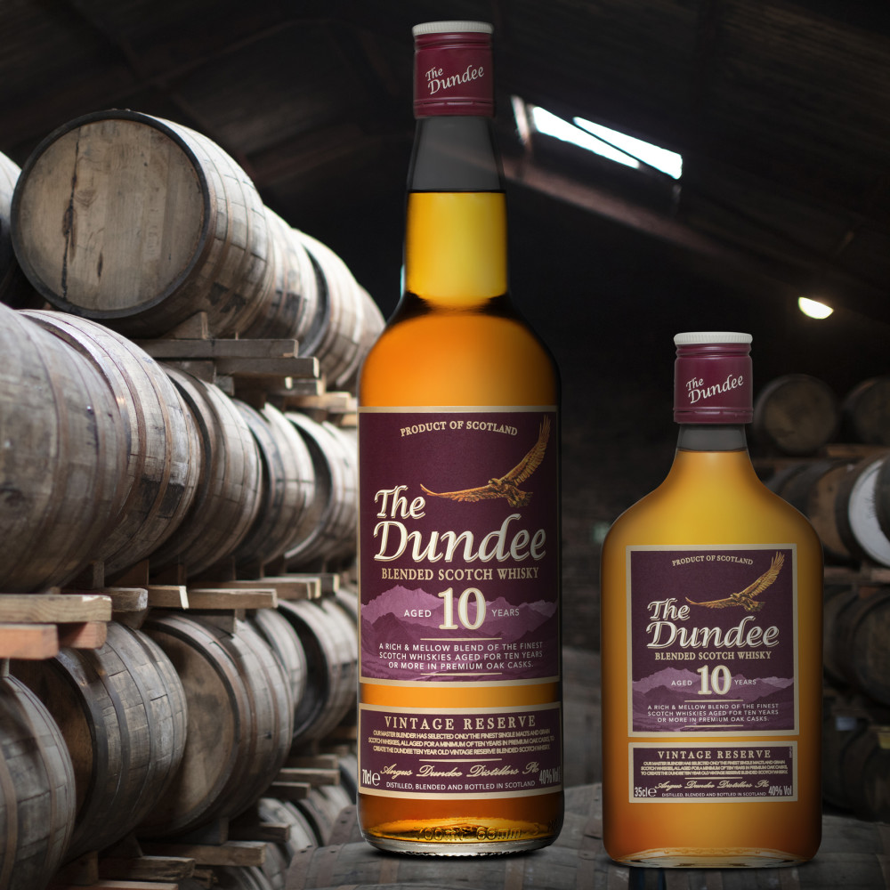 The Dundee 1o Years Old Vintage Reserve Blended Scotch Whisky