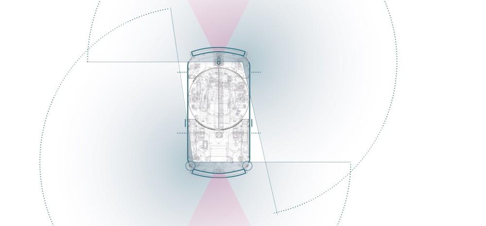 Damit sich Mensch und Maschine nicht in die Quere kommen kann TORU über seine Laserscanner Hindernisse frühzeitig erkennen.