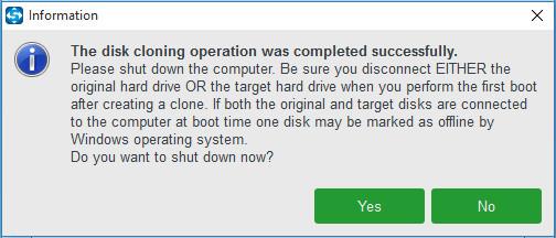 Sie Ihrem Computer so ein, dass er von der neuen Festplatte startet