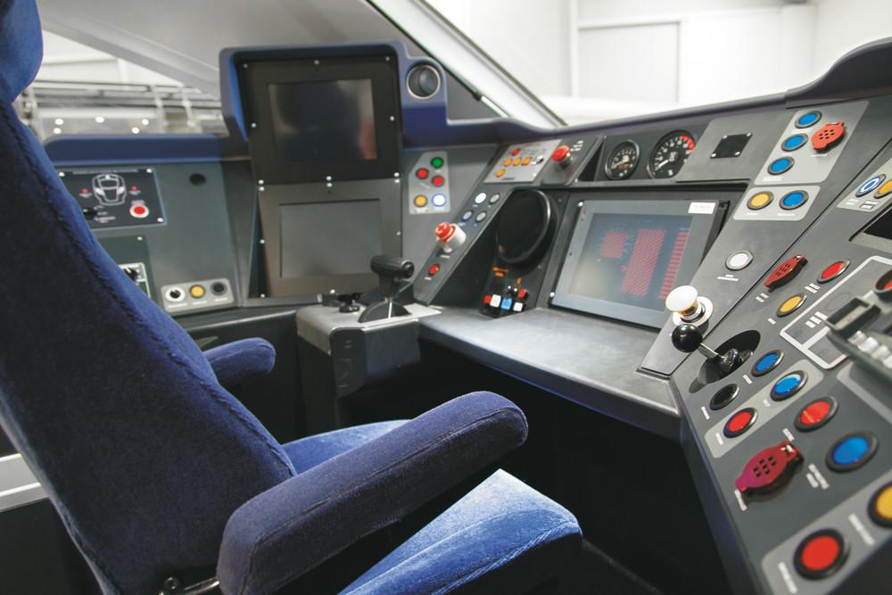 Hitachi Donates Cab Of New Generation High Speed Train To