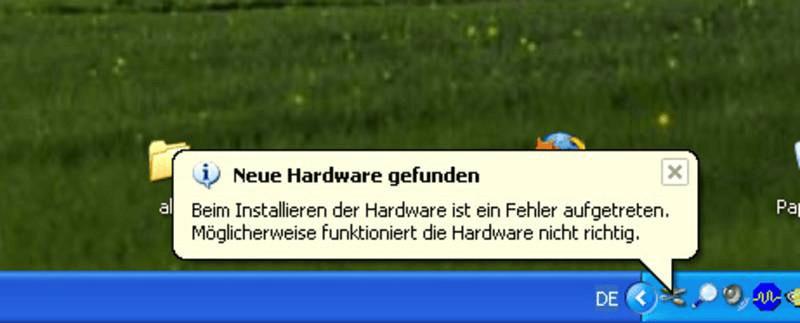 Neue Hardware gefunden