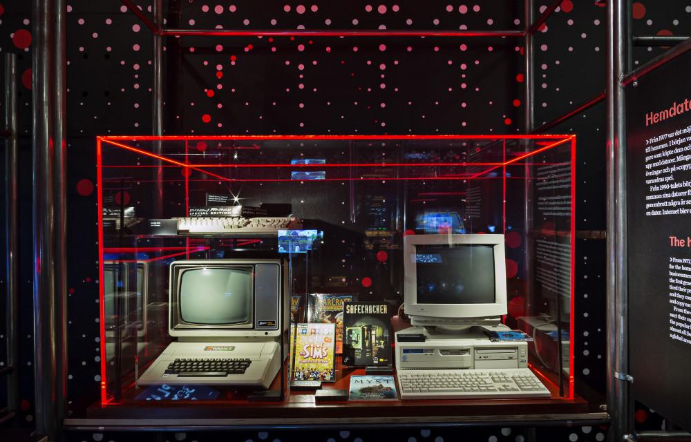 I mitten av 1990-talet gick datorn från att vara en teknik för de specialintresserade till en teknik för allmänheten. Foto Anna Gerdén
