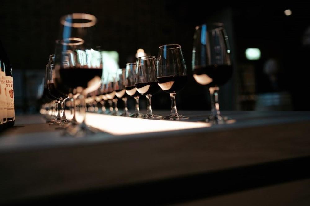 Vinprovning på The Winery Hotel