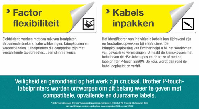 Labelprinter PT-E550W