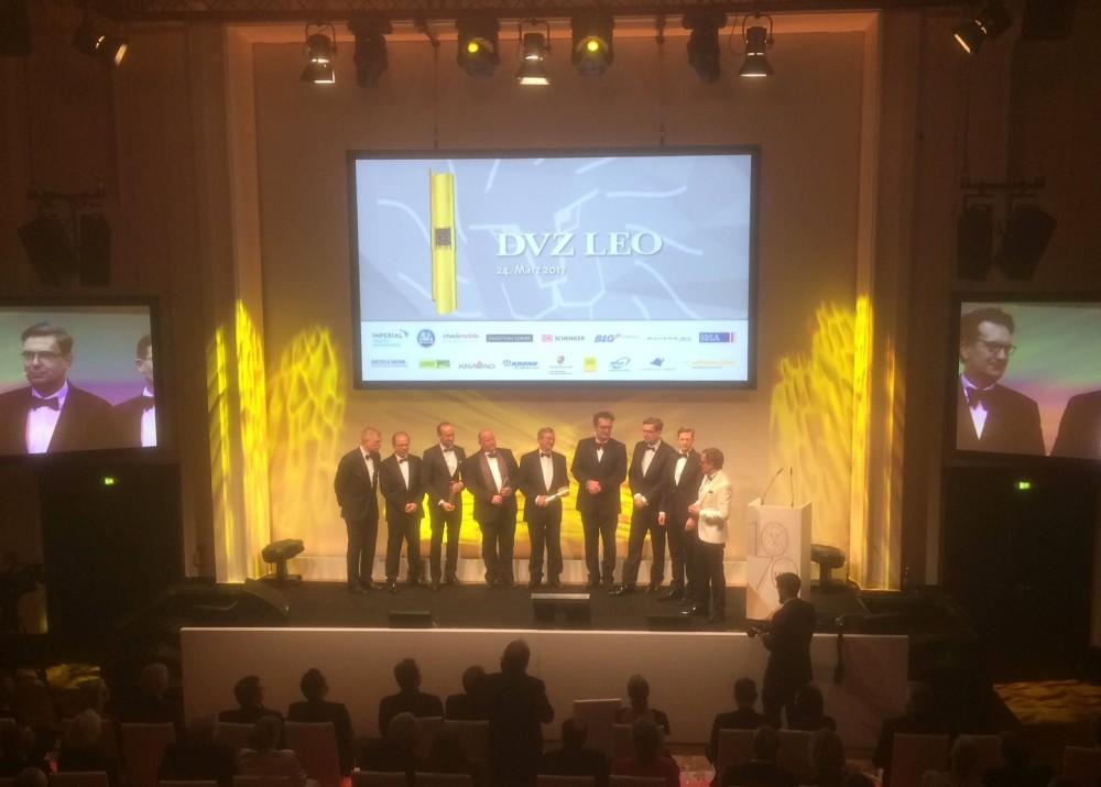Frederik Brantner mit LEO Award 2017 ausgezeichnet.
