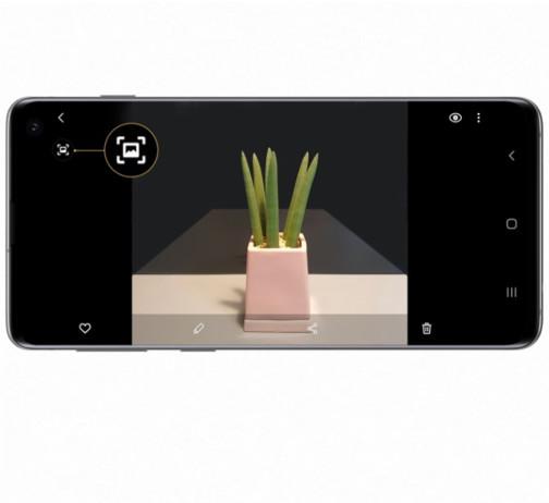Quick Crop tilgængelig til Galaxy S10