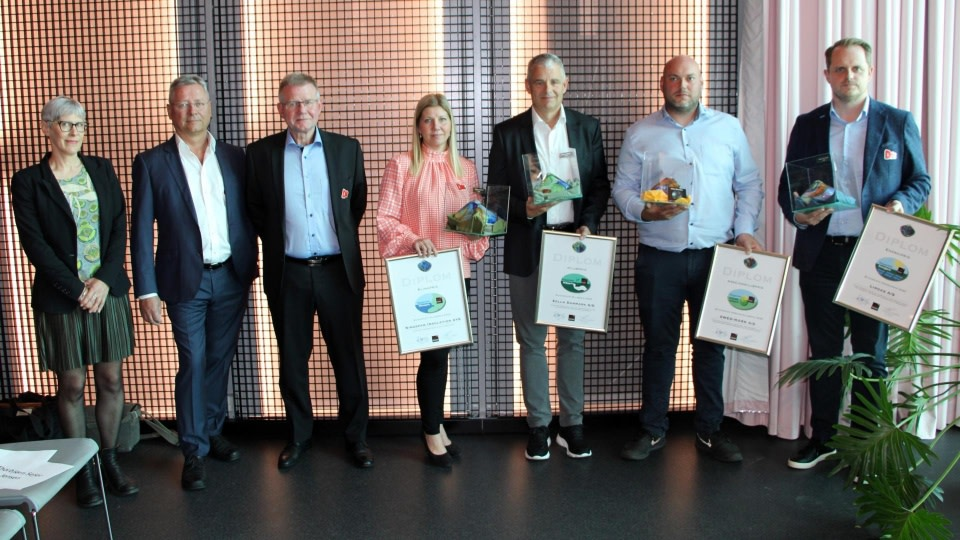 Her ses alle vinderne af Byggeriet Klimapriser.