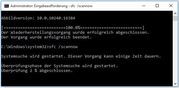sfc /scannow