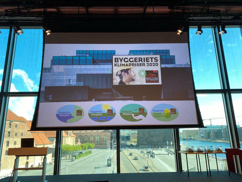 Arrangementet blev afholdt på BLOX i København af Danske Byggecentre.
