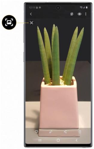 Quick Crop tilgængelig til Galaxy Note10