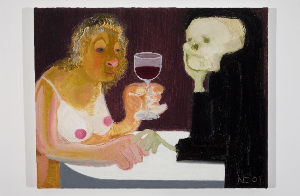 Nicole Eisenman, Death and the Maiden, 2009. ©Nicole Eisenman