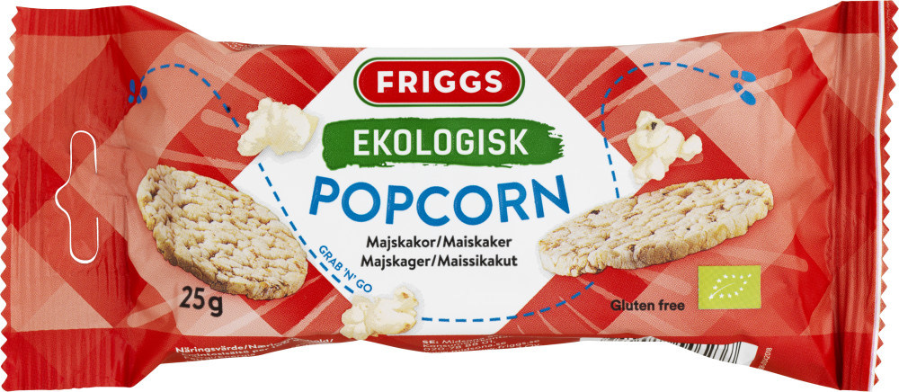 Friggs Snackpack Popcorn
