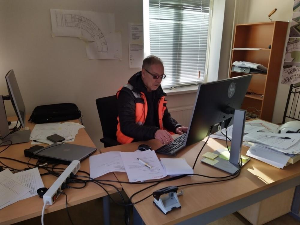 Rakennuttajatoimisto HTJ Oy:n työmaapäällikkö Timo Kanto