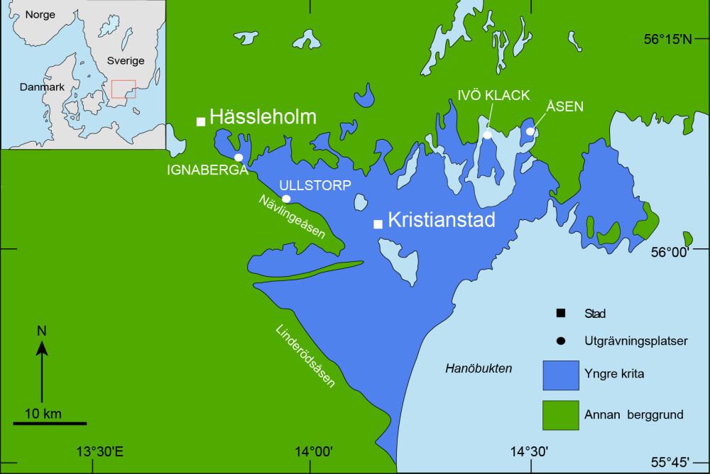 Karta Skane Och Danmark.Dinosauriefynd Visar Hur Skane Sag Ut For 80 Miljoner Ar Sedan