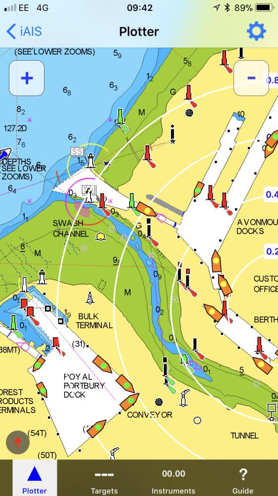 L Appli Iais Utilise Maintenant Les Cartes Navionics Digital Yacht