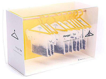 Origami Tea Packaging By Designer Natalia Ponomareva