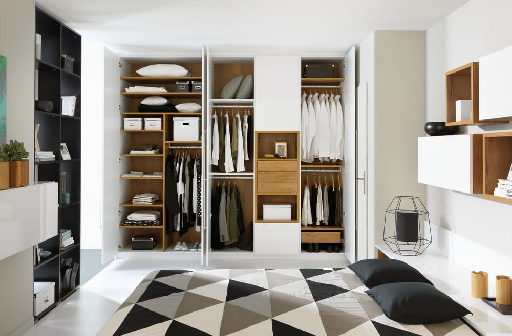 Bare ut Walk-in closet: Få 5 gode ideer til garderoben din - Schmidt CA-43