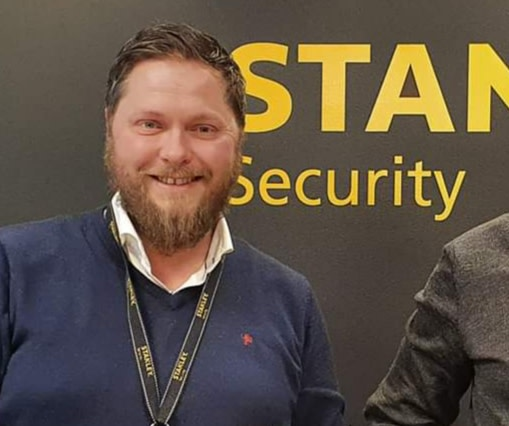Lars Morten Olsen, Key Account Manager i Stanley Security Norge