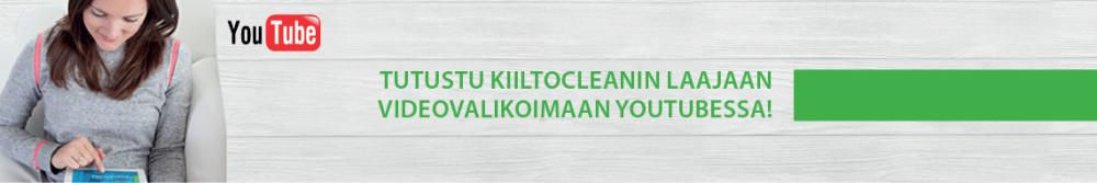 KiiltoClean käsihygienia YouTubessa