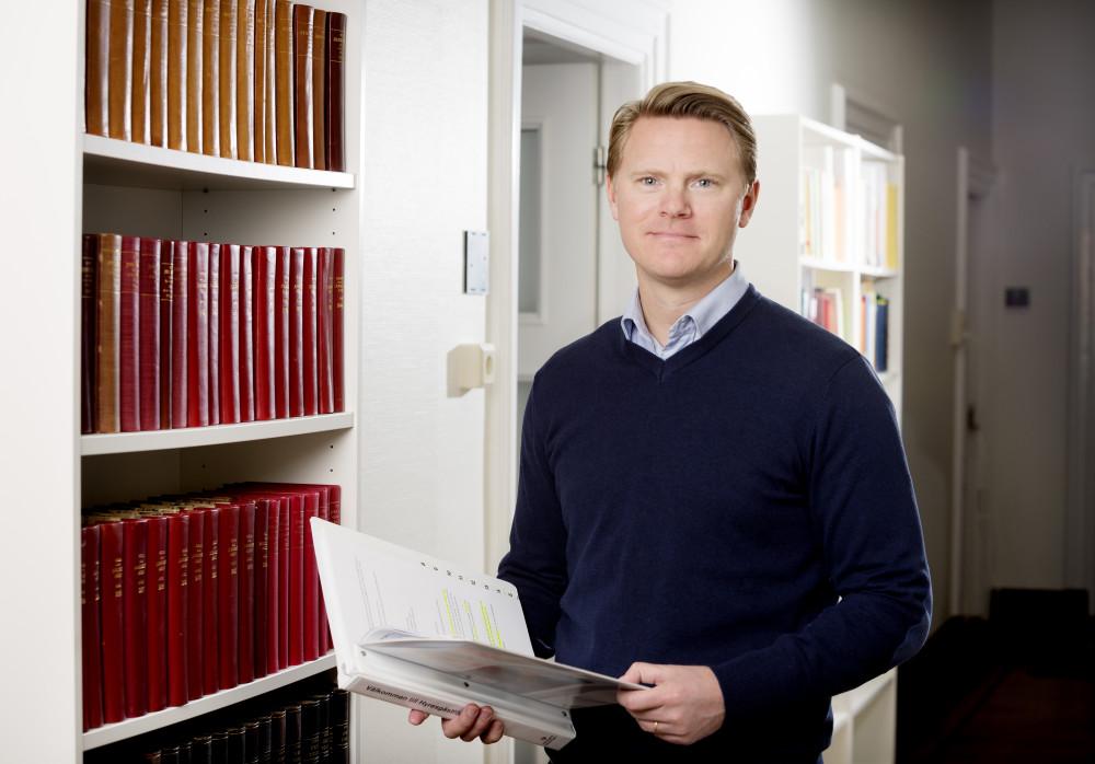 Joakim Lund, förhandlingschef på Hyresgästföreningen region södra Skåne