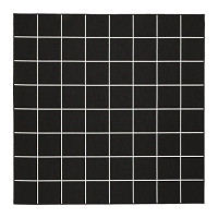 SVALLERUP  Rug flatwoven, in/outdoor Black/white £60