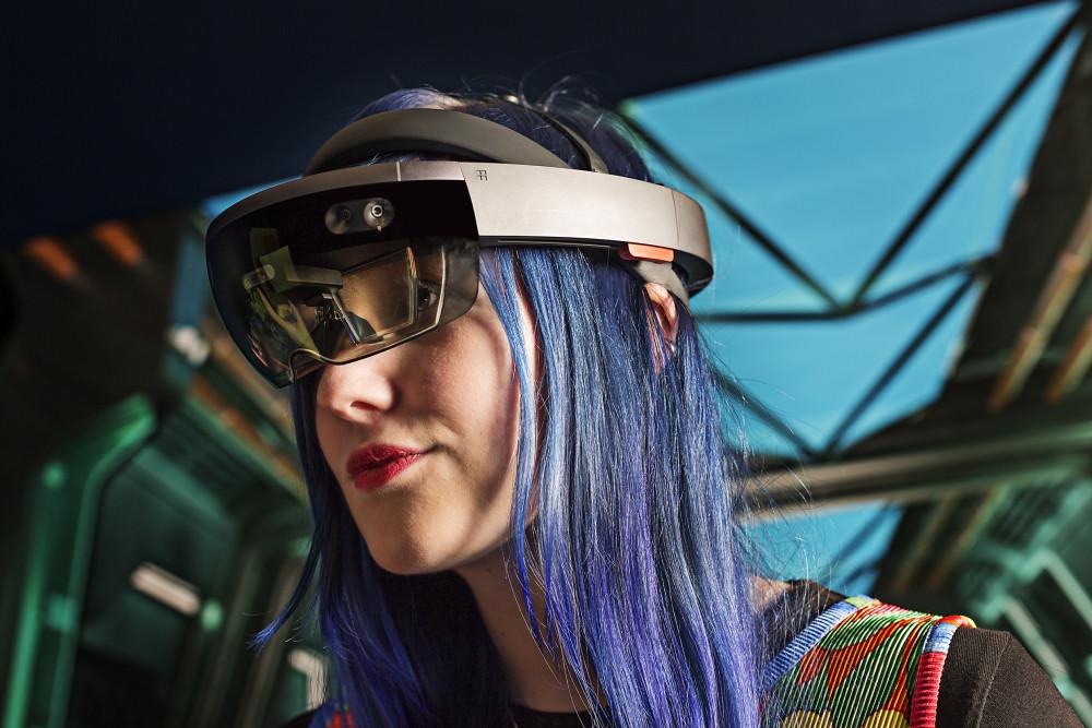 """Upplev den allra senaste speltekniken och hur det känns att spela i en """"mixed reality. Foto Anna Gerdén"""