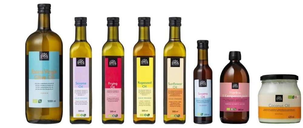 Udvalg af Urtekram olier