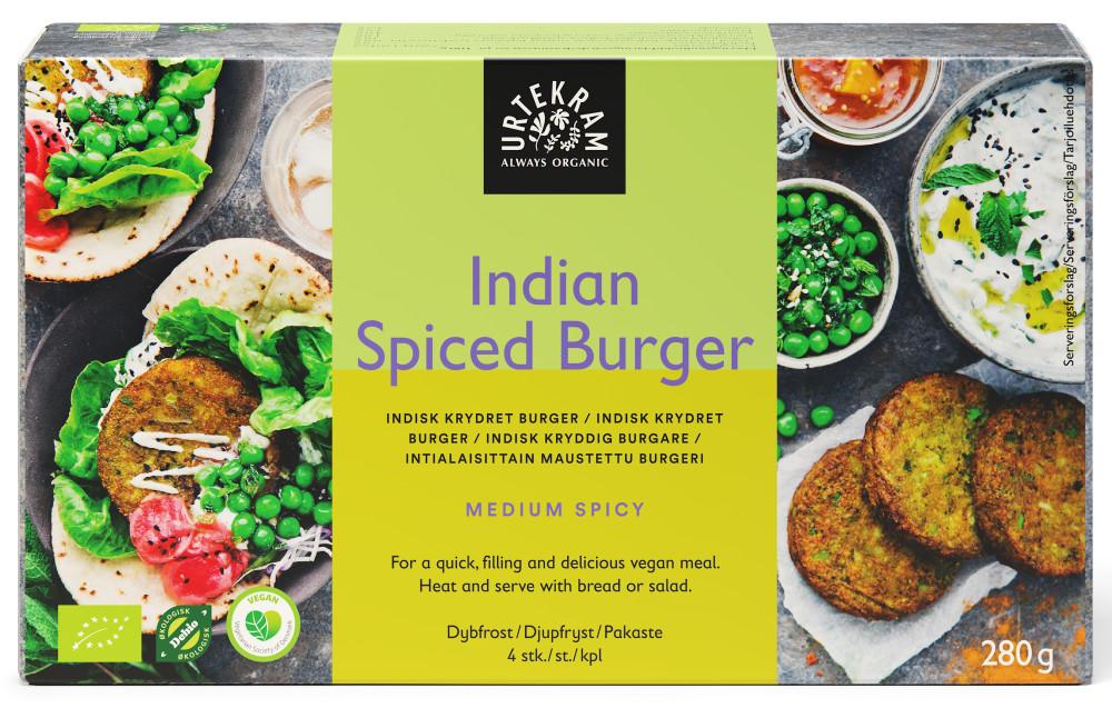 Urtekram Indian Spiced Burger
