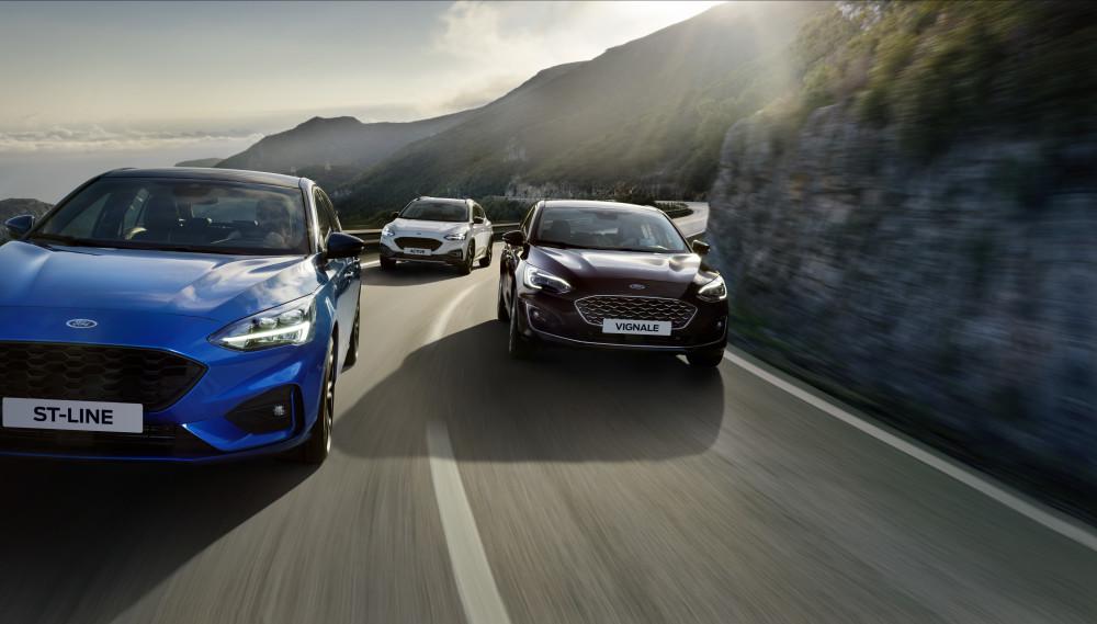 Ford Focus fik fem Euro NCAP-stjerner
