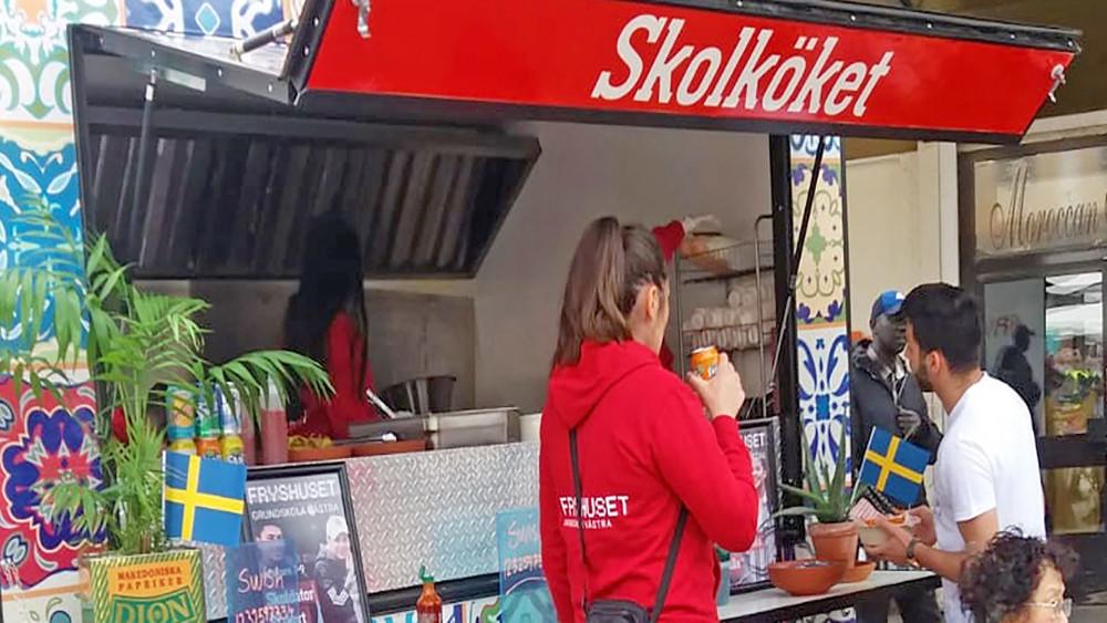 Skolköket Foodtruck (från Smaka på Stockholm)