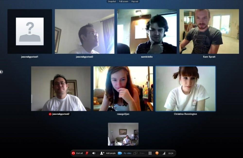 Using Skype for virtual teaching