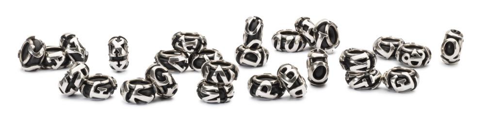 Original Trollbeads u * letter bead u-Bead