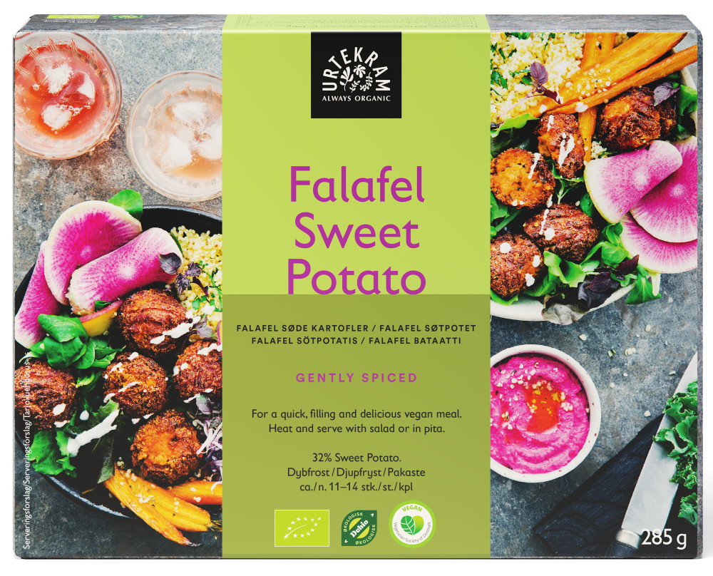 Urterkam Falafel Sweet Potato