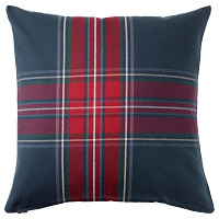 JUNHILD  Cushion cover Blue/red £10