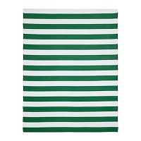 SOMMAR 2019  Rug, flatwoven In/outdoor/green/white £25