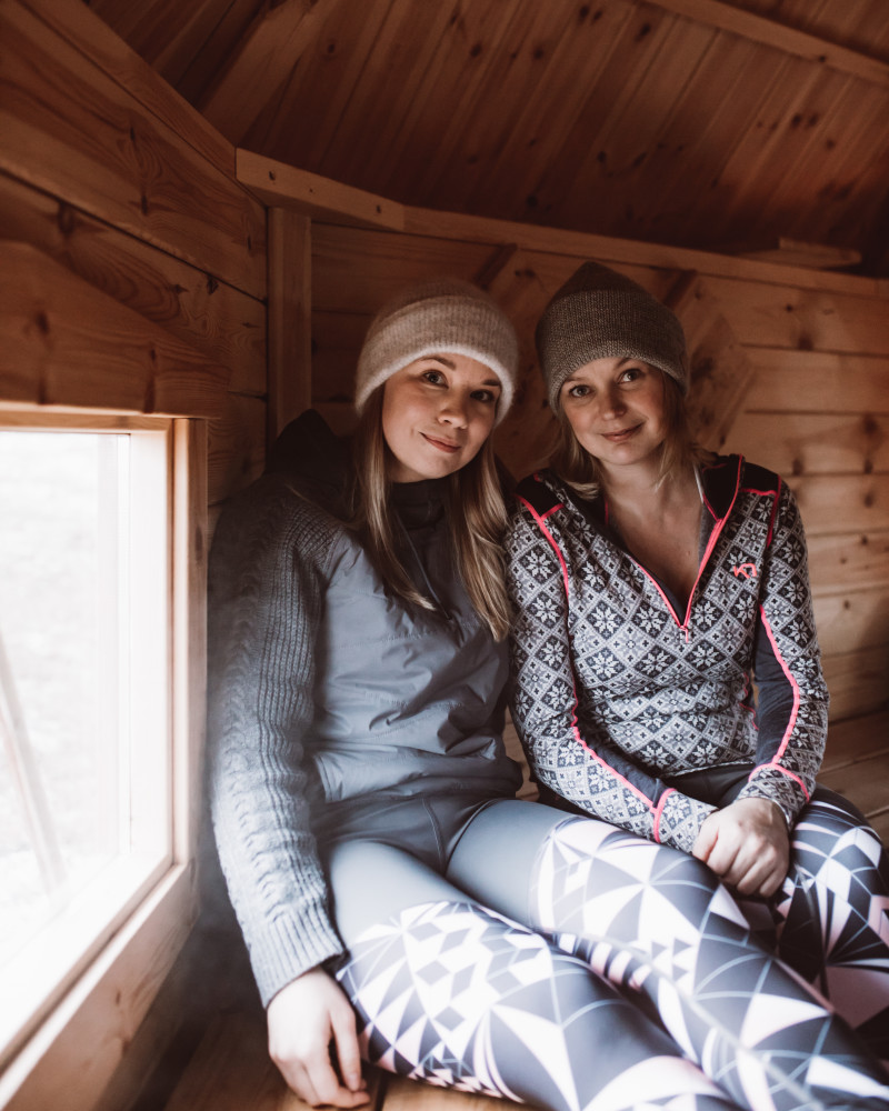 Aurora Estate Keittiömestari Sirly Schinmann sekä toimitusjohtaja Heidi Seikkula. Valokuvaaja Marko Vasara