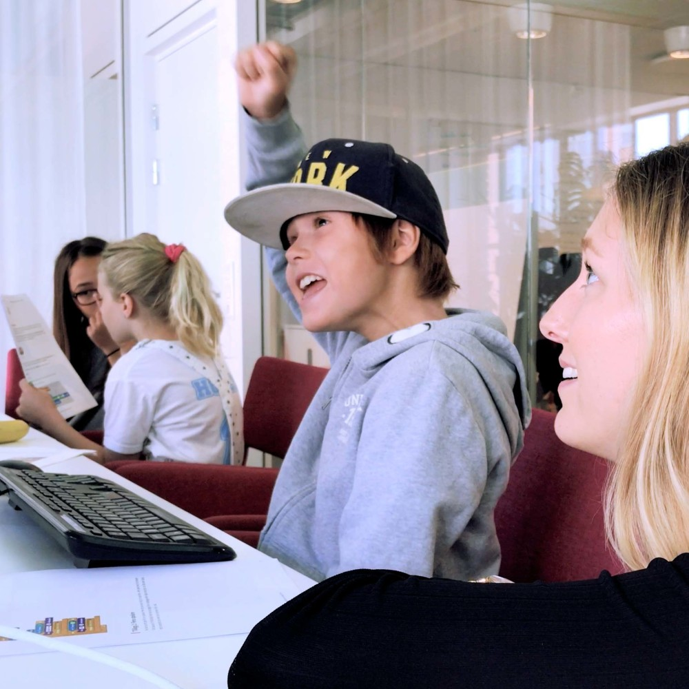 """Från Telavox event """"Workshop for kids"""""""