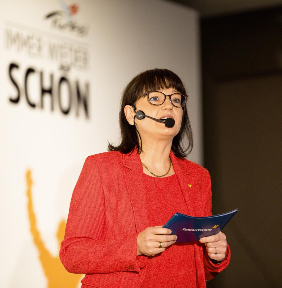 Geschäftsführerin Anya Müller-Eckert
