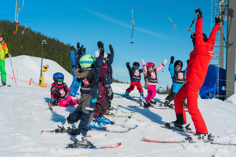Skiskole med Trysilguidene